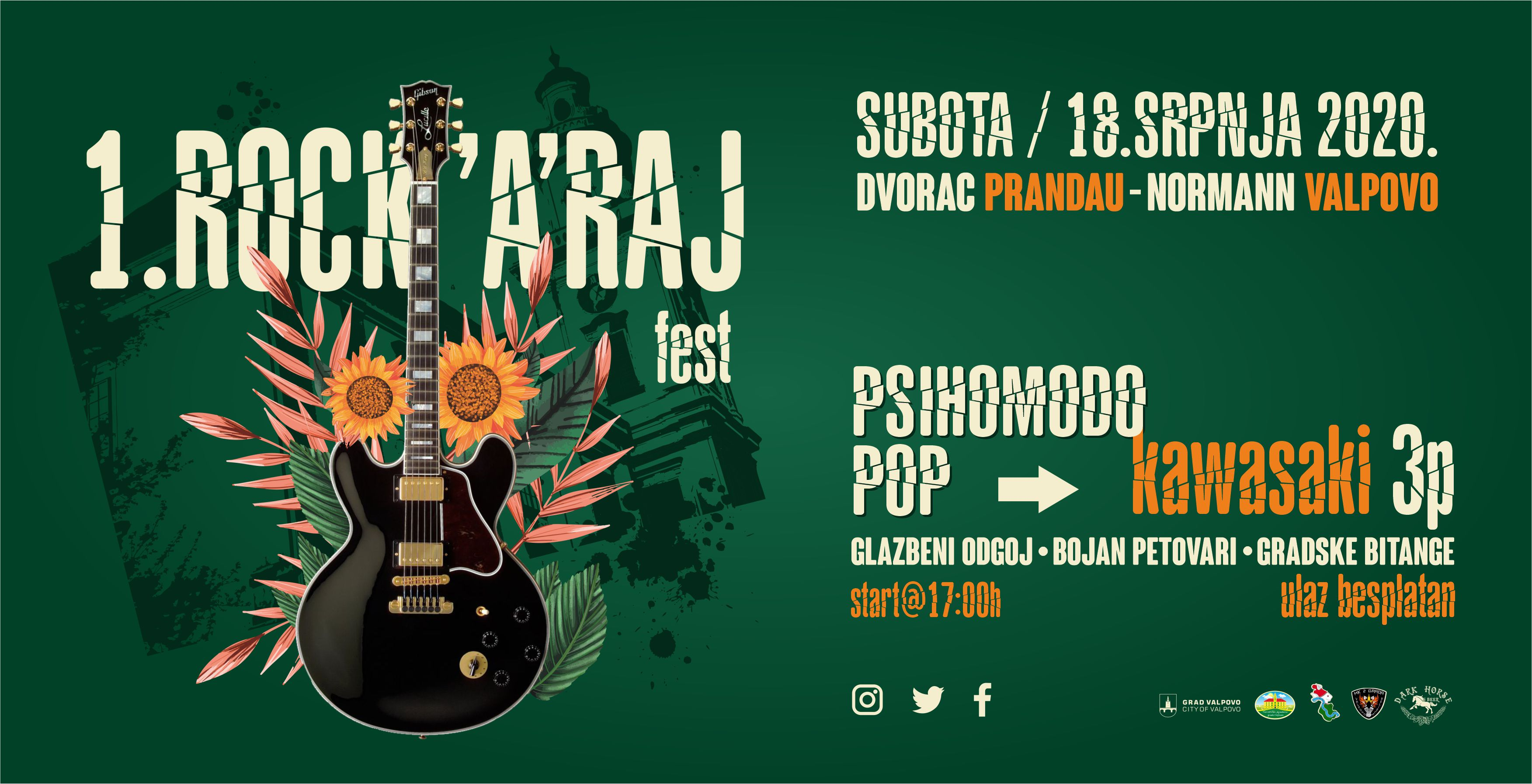 Prvi open-air rock fest – ROCK'A'RAJ